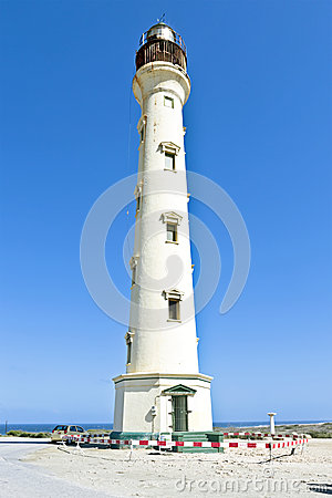 California lighthouse at Aruba