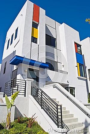 Free California Modern Home Stock Photography - 6769652