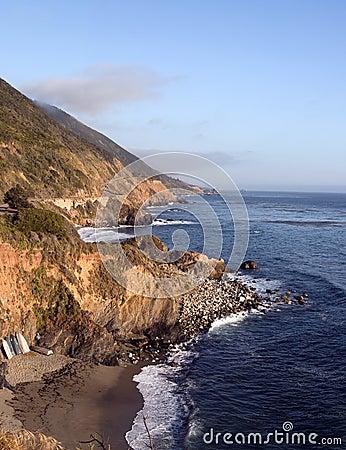 Free California Pacific Ocean Coast Royalty Free Stock Photo - 9986235