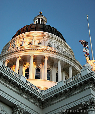 Free California State Capitol Building, Sacramento CA Royalty Free Stock Photos - 4979038