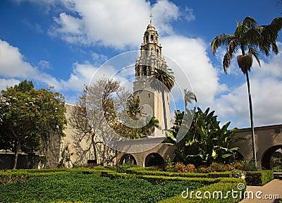California Tower from Alcazar Gardens