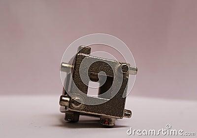 Caliper tool used to do break jobs Stock Photo