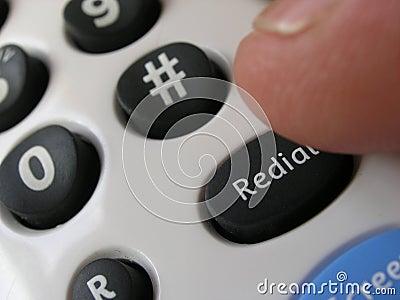 Call back Stock Photo