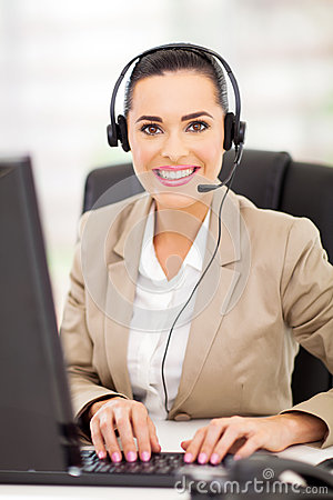 Free Call Center Employee Royalty Free Stock Images - 30208239