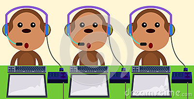 Call center monkeys