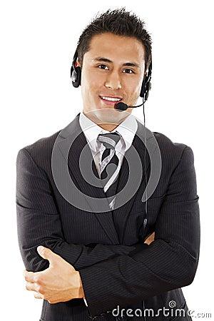Free Call Center Operator Stock Image - 20142351