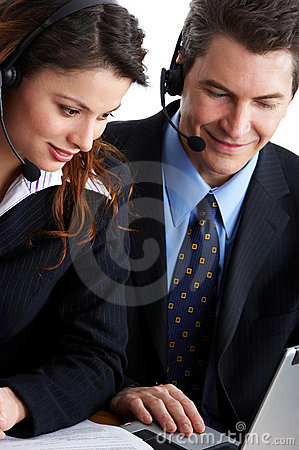 Free Call Center Operators Stock Photos - 4429513