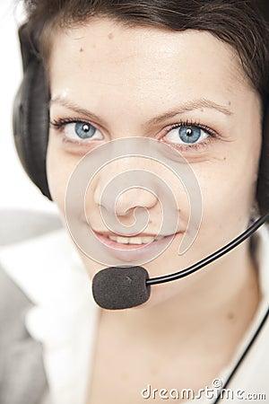 Call center portrait