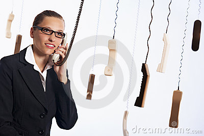 Call Center Providing Customer Service. Royalty Free Stock Photo - Image: 19314745