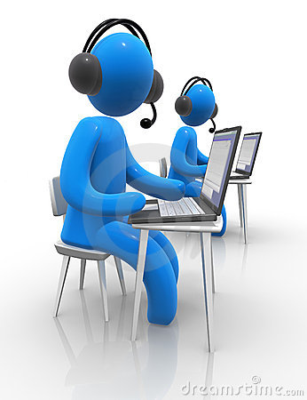 Free Call Centre Royalty Free Stock Image - 12166536