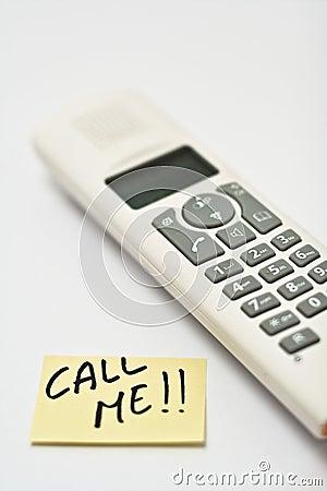 Free Call Me Stock Photo - 9630200
