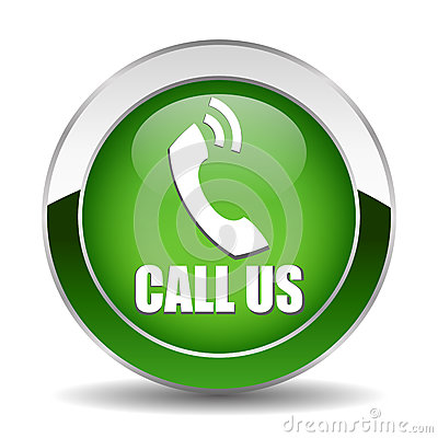Free Call Us Button Stock Image - 27704891