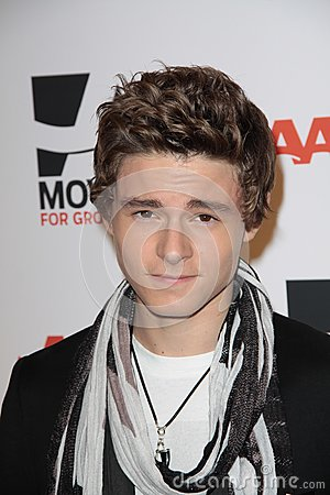 Callan McAuliffe at AARP Magazine s Movies For Grownups, Beverly Wilshire Hotel, Bevely Hills, CA. 02-07-11 Editorial Image