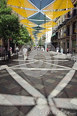 Calle de Arenal Editorial Image