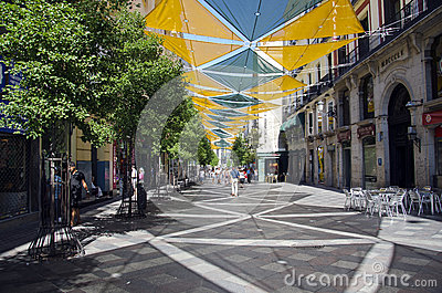 Calle de Arenal Editorial Stock Photo