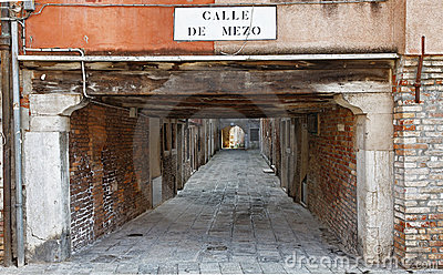 Calle de Mezo