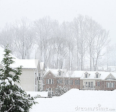Calle del invierno