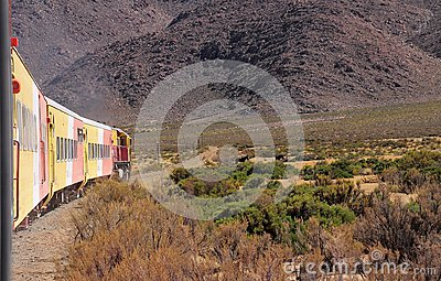 So called Tren a las nubes (Train to the clouds). Editorial Image