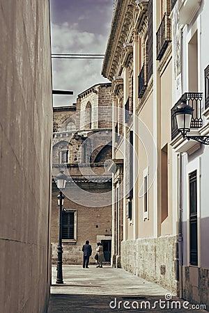 Callejon antigua Valencia