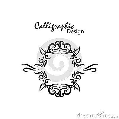Calligraphic design