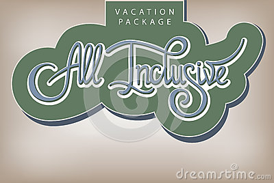 Vacation package All Inclusive