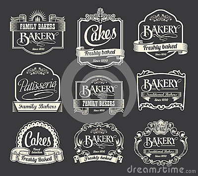 Free Calligraphic Sign And Label Design Set Stock Photography - 34978332