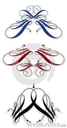 Calligraphic svignettes