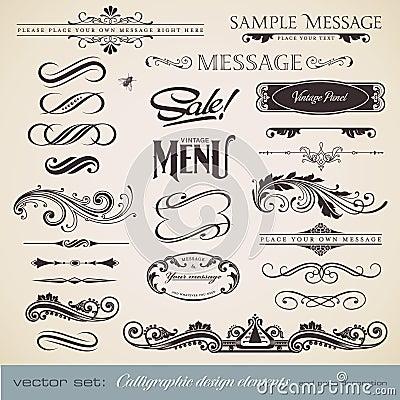 Calligraphy set 3