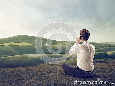 Calling in a Field