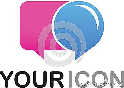 Callout shape icon / logo