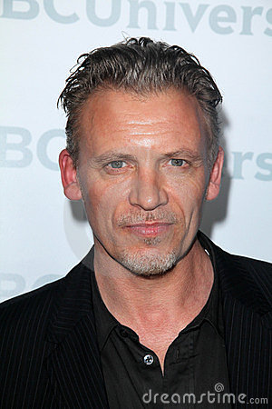 Callum Keith Rennie at the NBCUNIVERSAL Press Tour All-Star Party, The Athenaeum, Pasadena, CA 01-06-12 Editorial Stock Image