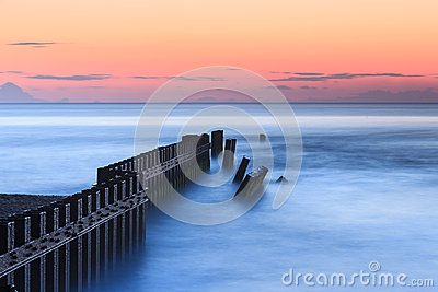 Calm Blue Ocean Hatteras North Carolina