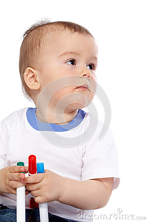 Calm Boy Stock Photo - Image: 25929350