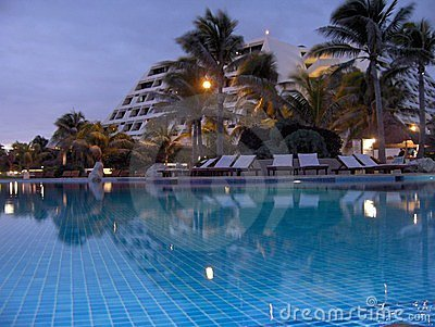 Calm Evening Pool