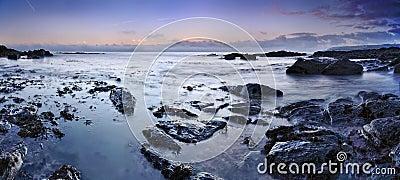 A calm ocean