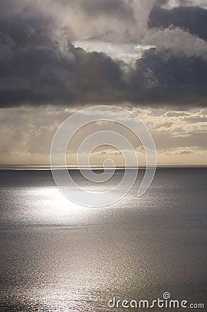Calm Sea Sky