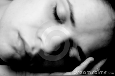 Calm Sleeping woman