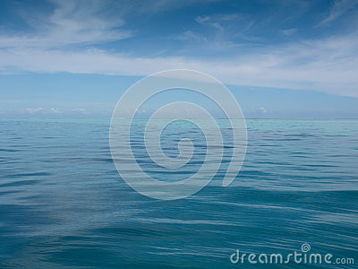 Calm South Pacific Ocean