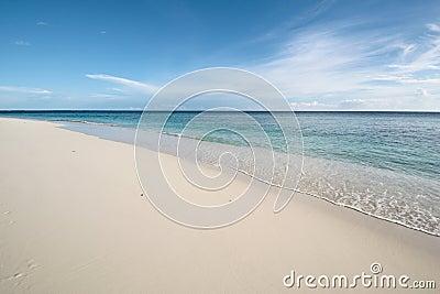 Calmness ocean coast