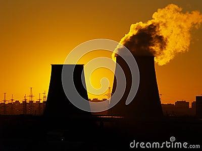 Calor y central eléctrica