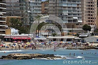 Calp Resort - Alicante Province - Spain Editorial Photo