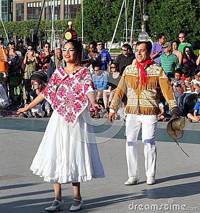 Calpulli Mexican Dance Company Editorial Photo