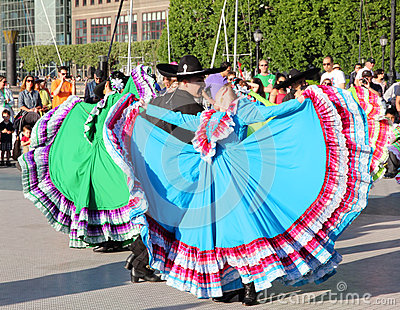 Calpulli Mexican Dance Company Editorial Stock Photo