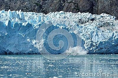Calving, Tidewater Margerie Glacier, Alaska