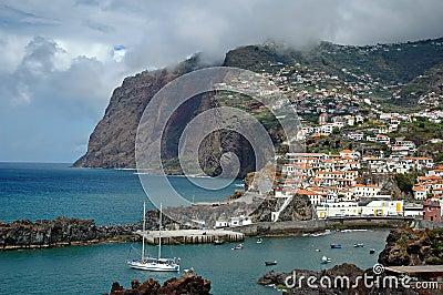 Camara de Lobos in Madeira Island