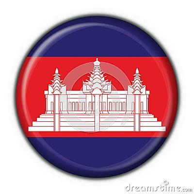 Cambodia Flag Round