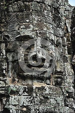 Cambodia Angkor Bayon temple