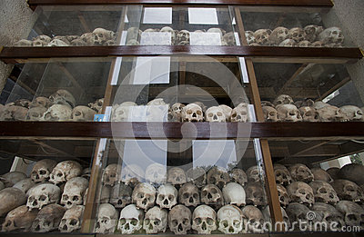 Cambodia -  Khmer Rouge regime Editorial Stock Photo