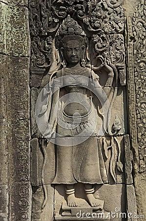 Cambodia Siem Reap Angkor Wat Bayon Temple