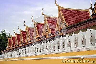 Cambodia slottkunglig person